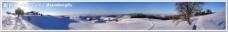 超宽雪景图片