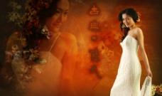 古典时尚婚纱图片