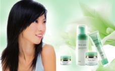 化妆品广告素材图片