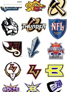 职业足球logo图片
