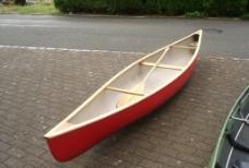 红色木船图片