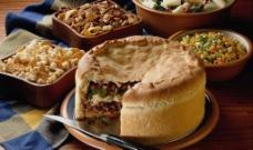 什锦餐包西餐食物图片
