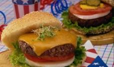 快餐汉堡 西餐食物图片