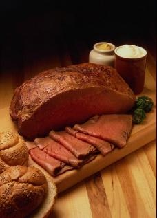 熏肉 西餐食物图片