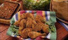 炸鸡  西餐食物图片