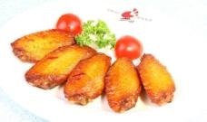鸡翅美食烤鸡翅图片