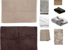 米色毛巾图片