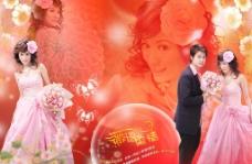 薇语柔情 婚纱模板图片