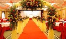 婚礼现场布置图片