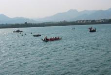 青龙湖赛龙舟图片