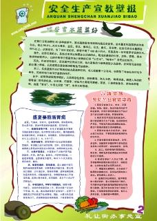 安全生产宣教壁报2图片