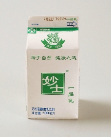 妙士牛奶图片