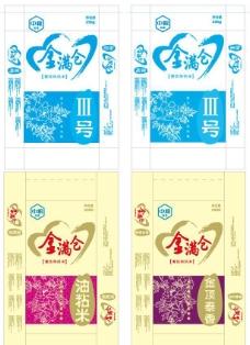 中粮米包装设计图片