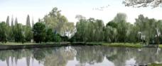 生态公园效果图图片