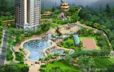 长安华都景观康体公园图片