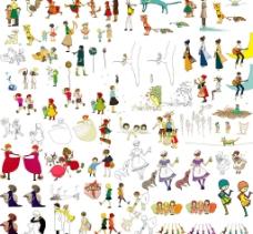 可爱手绘系列图片
