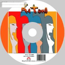cd盘面设计